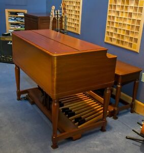 Image Is Loading Hammond B3 Organ With Leslie Cabinet
