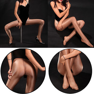 Classic Hottest Women's Sheer Sexy Shiny Glossy Stocking Oil Pantyhose Tights #