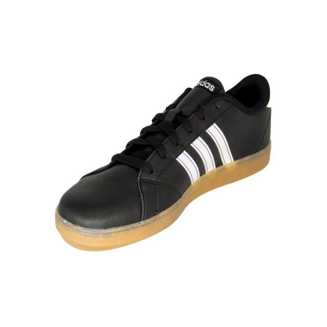adidas Neo Boys Baseline K Black SNEAKERS Shoes 6 Medium (d) Big Kid BHFO 1427