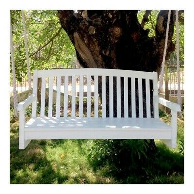 Swing 4 Foot Furniture Outdoor Porch Seat Wooden Hanging ...