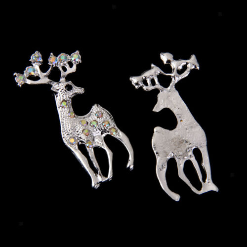10pcs Christmas Embellishments Flatback For Card Making Scrapbook Supplies