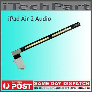 Headphone Jack Audio Flex Cable For iPad Air 2 iPad 6 WHITE