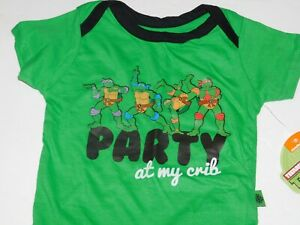 Boy-6-9-Months-Infant-One-Piece-Outfit-Teenage-Mutant-Ninja-Turtle-Party-My-Crib