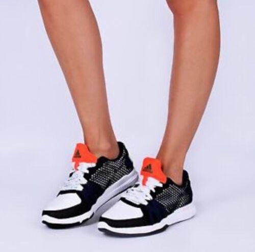 Adidas Stella Deporte Ively Mujer Zapatillas Blanco Negro Nuevo en Caja AQ2656