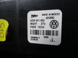 VW Golf VII Jetta Nebelscheinwerfer rechts + links 5GM941662    5GM941661