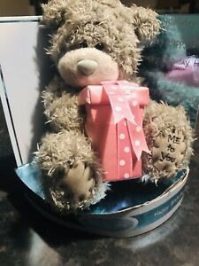 "ME TO YOU BEAR TATTY TEDDY 9/"" HAPPY BIRTHDAY YELLOW T-SHIRT BEAR GIFT"