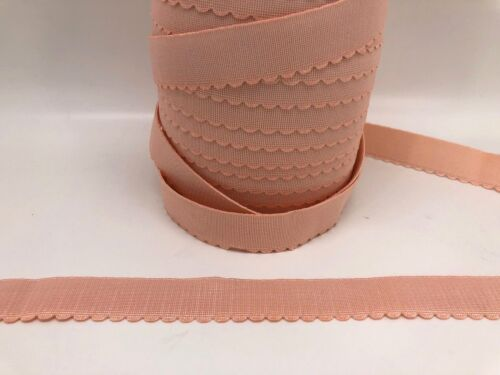 Available in 10 Colours 25mm Wide Colour Elastic With Edging