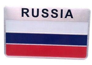 Aufkleber-Russland-Russia-3D-Auf-Kleber-Emblem-Metall-selbstklebend-Sticker-Logo