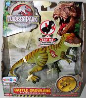 Jurassic Park Battle Growlers Electronic Tyrannosaurus Rex Hasbro Mib.