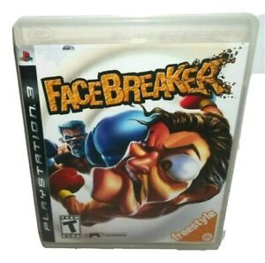 FaceBreaker-Sony-PlayStation-3-2008-Complete