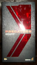 hot toys predators movie 1:6 scale berserker berzerker predator figure with box