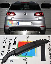 VW GOLF 6 2008-2012 DIFFUSORE SOTTO PARAURTI POSTERIORE LOOK GTI