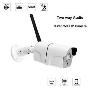 HJT IP Camera Wireless H.265 5.0MP Network CCTV Outdoor Security TF Card Camhi