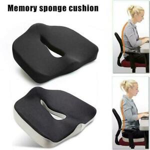 Cush-Comfort-Non-Slip-Memory-Foam-Seat-Cushion-Spinal-Alignment-Chair-Pad