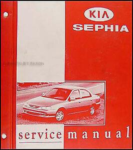 1998 1999 kia sephia repair shop manual original 98 99 ebay rh ebay com kia sephia manual pdf kia sephia manual pdf