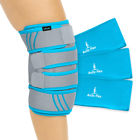 VIVE SUP1070GRY Knee Ice Pack Wrap