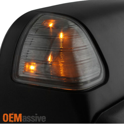 Tow Mirrors 2009 Style Fit 02-08 Dodge Ram 1500 //03-09 2500 3500 Power Heated