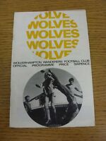 04/05/1968 Wolverhampton Wanderers v Chelsea  (Creased). Thanks for viewing our