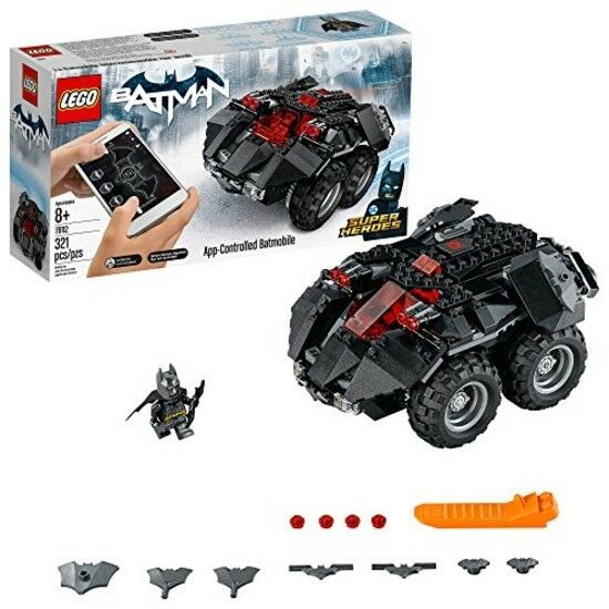 LEGO Superheroes App-Controlled Batmobile Building Building Building Kit (321 PCS), Multicolor New 17de19
