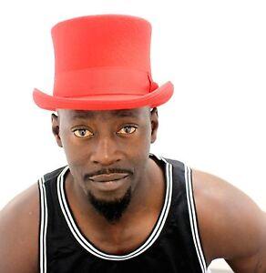 "b072c294bfe0c1 Mens Top Hat, 100% wool satin lined gentlemen formal hat, 5"" ..."
