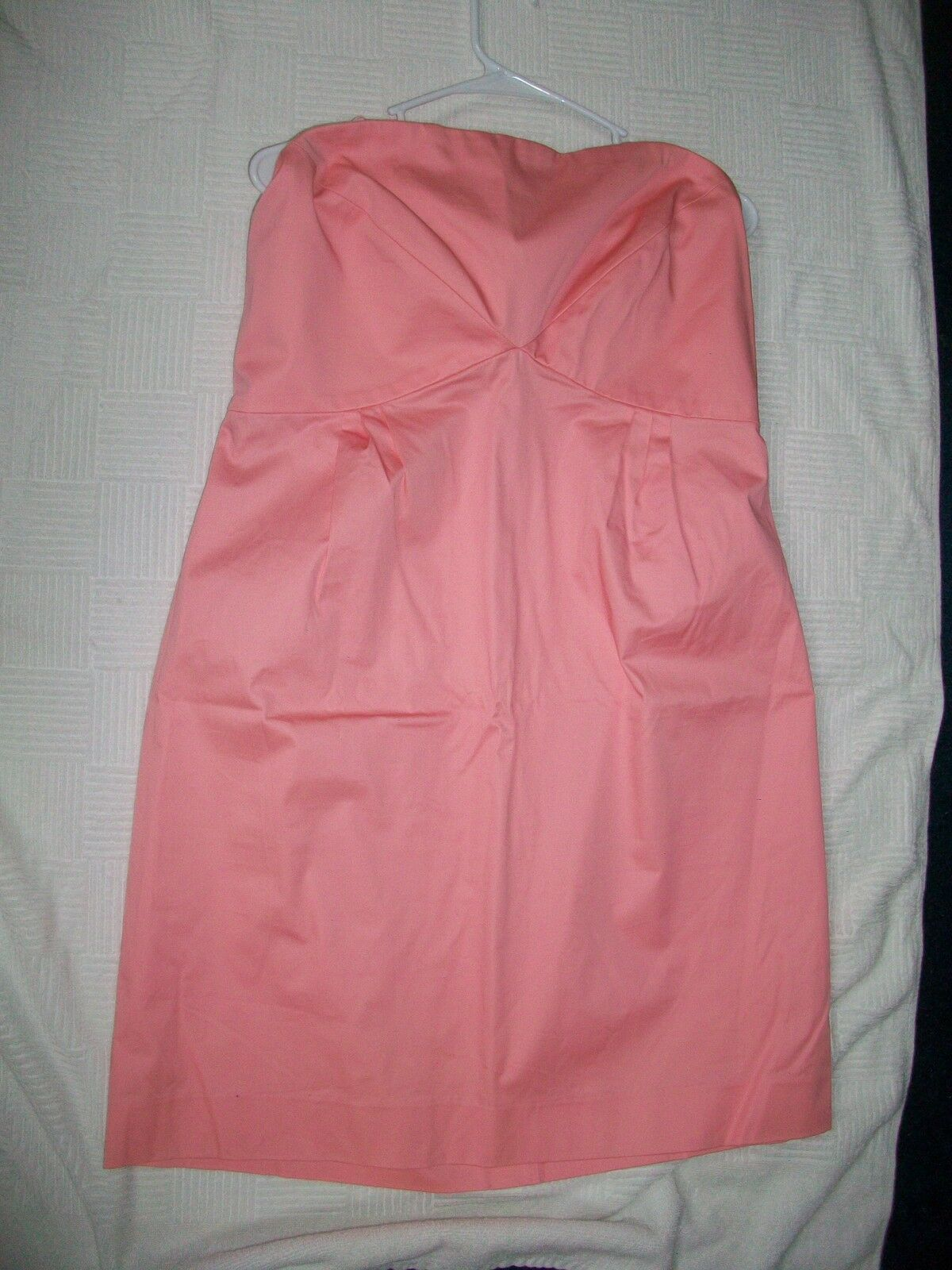Women's Strapless Dress Pink New York & Company NWT Sz 16