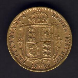 Australia-1889-Sydney-Jubilee-Head-Half-Sovereign-Trace-Lustre-VF