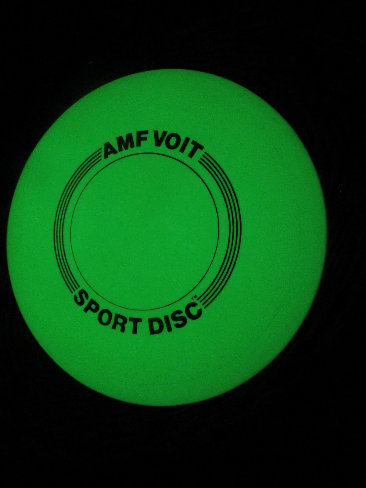 AMF VOIT HTF Vintage 200 grams GLOW IN THE DARK VERY RARE NICE DISC Sport