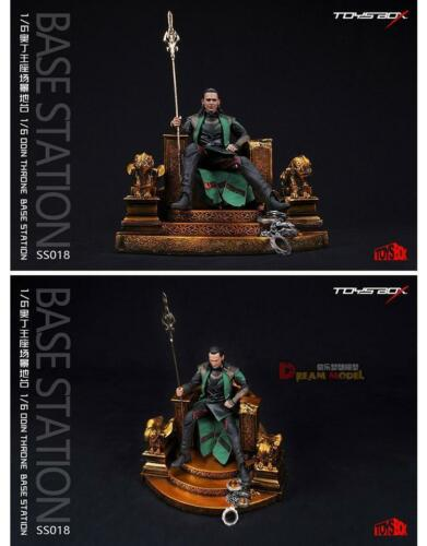 """TOYS BOX 1:6 Odin Throne Model SS018 Chair Base Station F//12/"""" Figure Collection"""