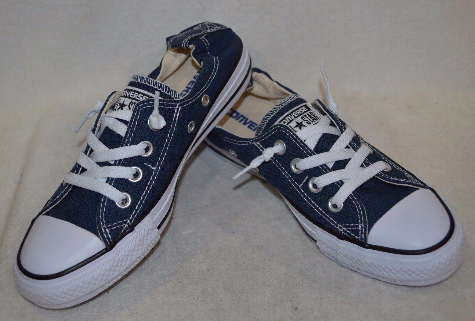 Converse Women's CT AS Shoreline Navy White Slip On Sneaker - Sizes 6 7 8 9 -NWB