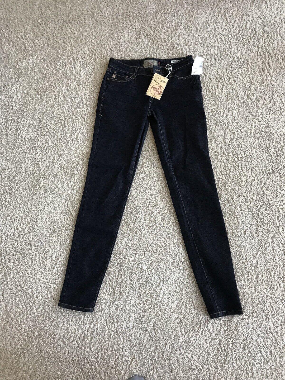 Dear John Denim JOYRICH Skinny Jeans Sz 25
