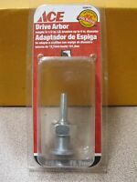 Ace 1/2 Drive Arbor Adapts 1/2 Brushes Up To 4 Diameter 2099711 Free Ship