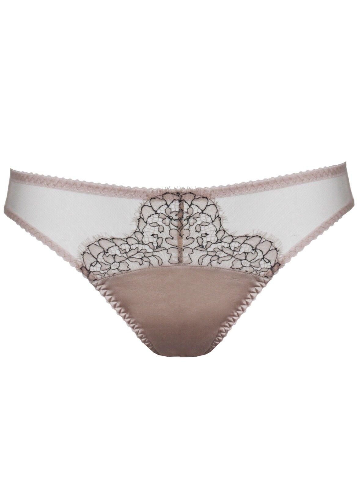 Fleur of England Seduction Medium Silk Brief NWT RRP