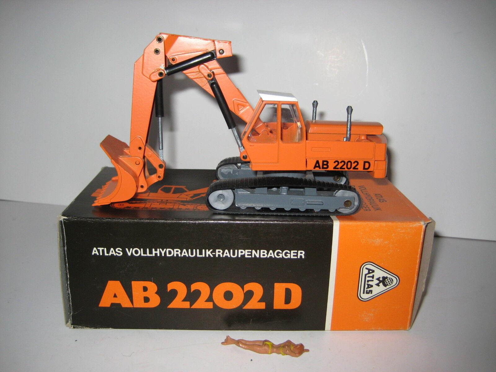 ATLAS AB 2202 D BAGGER HOCHLÖFFEL  145.3 NZG 1 50 OVP