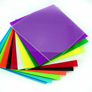 200x200x2.3mm Color Acrylic Sheet Panel Plexiglass Plastic Plate DIY ...