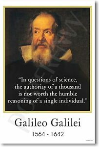 Galileo-Galilei-In-questions-of-science-NEW-Classroom-Motivational-POSTER