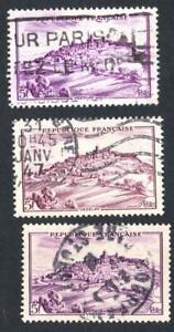 VARIETE-N-759-Vezelay-LES-TROIS-NUANCES-DE-LILAS-obliteres-SANS-DEFAUTS