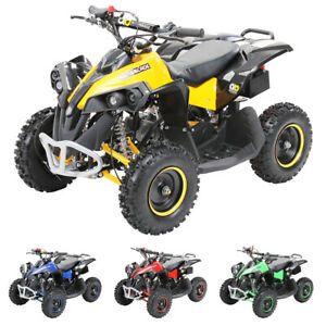 HMParts Kinderquad ATV Mini Cross 2-Takt 49 ccm Motor mit E-Anlasser