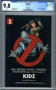 Kidz #1  Ablaze Comics  Ghostbusters Movie Poster Homage Variant  CGC 9.8
