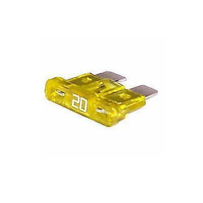 Durite Fuse Blade Type Yellow 20 amp Pk10-0-375-20