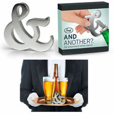 Fred Friends Bottle Opener And & Another Beer Wine Soda Pop Aluminum Bar Ware