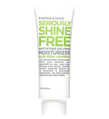 Formula 10.0.6 Seriously Shine Free Mattifying Oil-Free Moisturiser 75 ml (BN)