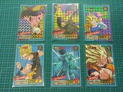 Family songoku N° 45 Power Level Dragon Ball Prism Fan Custom Card
