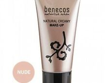 Brand New Benecos Natural Creamy Flawless Face Matte Foundation Nude 1oz