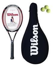 WILSON Enforcer 100 Racchetta da tennis + VALIGETTA + 3 PALLINE da tennis rrp £ 80 (L1)