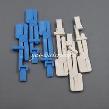 10 Pcs Dental X Ray Film Clip Holder Radiograph Plastic Whiteblue Clamp Head