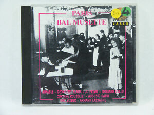 PARIS-BAL-MUSETTE-Compilation-accordeon-valse-CD-Chanson-Francaise
