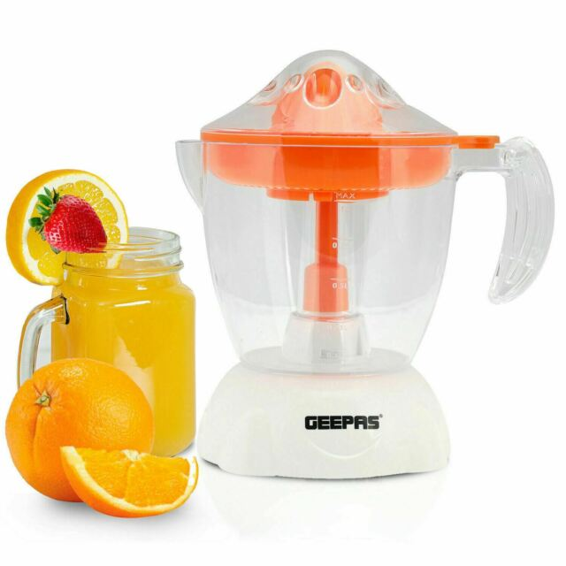 Geepas Electric Citrus Squeezer Juicer Machine Juice Press Lemon Extractor 40W