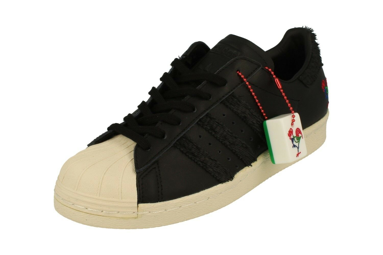 Adidas Originals Mens Superstar 80S Cny Trainers Sneakers BA7778 Shoes