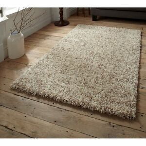 SHAGGY-THICK-5cm-PILE-RUGS-SMALL-X-LARGE-SIZE-NEW-SOFT-PLAIN-PURPLE-NON-SHED-RED