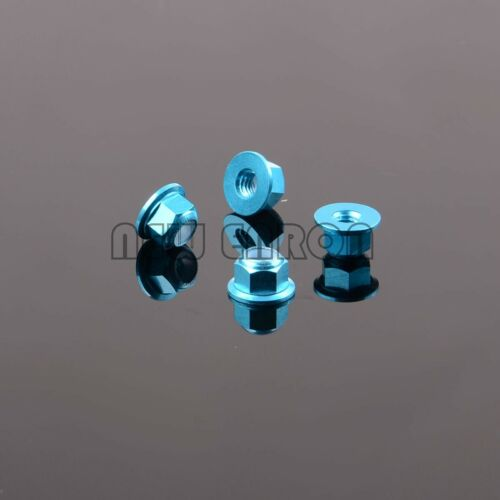 4P Nut M4 Nylon 102049//122049 For 1//10 RC Car HSP Redcat Himoto 02055//02190